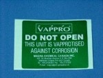 VAPPRO Security Label